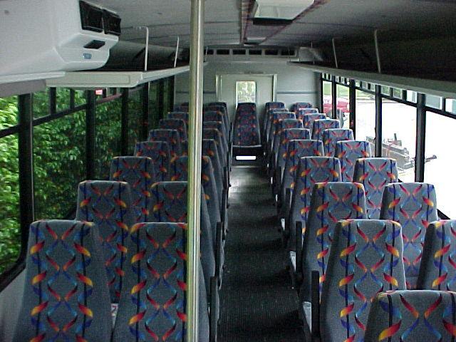 Interior Montreal Limousine Bus